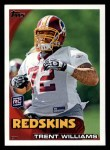 2010 Topps #225  Trent Williams  Front Thumbnail