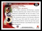 2010 Topps #225  Trent Williams  Back Thumbnail