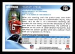 2010 Topps #168  Tony Pike  Back Thumbnail