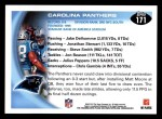 2010 Topps #171   -  Jonathan Stewart / Steve Smith Panthers Team Back Thumbnail