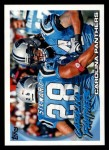 2010 Topps #171   -  Jonathan Stewart / Steve Smith Panthers Team Front Thumbnail