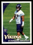 2010 Topps #294  Everson Griffen  Front Thumbnail