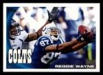 2010 Topps #180  Reggie Wayne  Front Thumbnail
