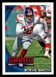 2010 Topps #270  Steve Smith  Front Thumbnail