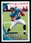 2010 Topps #161  Mike Thomas  Front Thumbnail