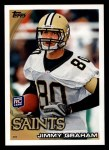 2010 Topps #265  Jimmy Graham  Front Thumbnail
