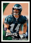2010 Topps #242  Riley Cooper  Front Thumbnail