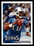 2010 Topps #186  Vince Young  Front Thumbnail