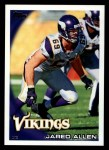 2010 Topps #243  Jared Allen  Front Thumbnail