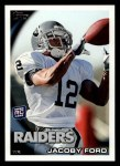 2010 Topps #271  Jacoby Ford  Front Thumbnail