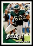 2010 Topps #256  Trent Cole  Front Thumbnail