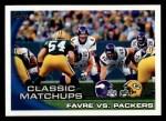2010 Topps #281   -  Brett Favre Classic Matchups Front Thumbnail