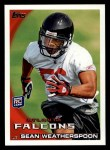 2010 Topps #156  Sean Weatherspoon  Front Thumbnail