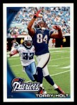 2010 Topps #187  Torry Holt  Front Thumbnail