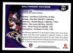 2010 Topps #267   -  Ray Lewis Ravens Team Back Thumbnail