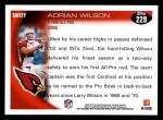 2010 Topps #229  Adrian Wilson  Back Thumbnail