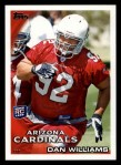 2010 Topps #263  Dan Williams  Front Thumbnail