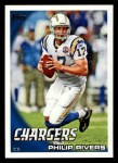 2010 Topps #250  Philip Rivers  Front Thumbnail