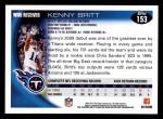 2010 Topps #153  Kenny Britt  Back Thumbnail
