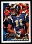 2010 Topps #354  Laurent Robinson  Front Thumbnail