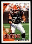 2010 Topps #324  Joe Thomas  Front Thumbnail