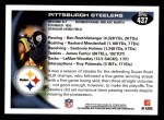 2010 Topps #437   Steelers Team Back Thumbnail