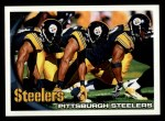 2010 Topps #437   Steelers Team Front Thumbnail