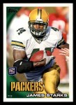2010 Topps #348  James Starks  Front Thumbnail