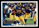 2010 Topps #353   -  Steven Jackson Rams Team Front Thumbnail