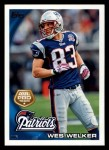 2010 Topps #411  Wes Welker  Front Thumbnail