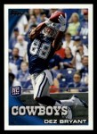 2010 Topps #425  Dez Bryant  Front Thumbnail