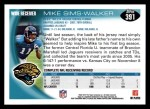 2010 Topps #391  Mike Sims-Walker  Back Thumbnail