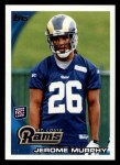 2010 Topps #326  Jerome Murphy  Front Thumbnail