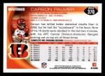2010 Topps #370  Carson Palmer  Back Thumbnail