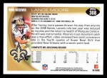 2010 Topps #308  Lance Moore  Back Thumbnail