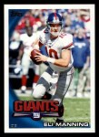 2010 Topps #400  Eli Manning  Front Thumbnail