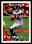 2010 Topps #386  Jerious Norwood  Front Thumbnail