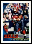 2010 Topps #396  Fred Jackson  Front Thumbnail