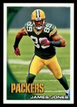 2010 Topps #421  James Jones  Front Thumbnail