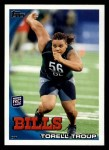 2010 Topps #381  Torrell Troup  Front Thumbnail