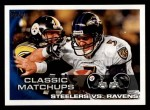 2010 Topps #369   -  Troy Polamalu / Joe Flacco Classic Matchups Front Thumbnail