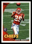 2010 Topps #395  Eric Berry  Front Thumbnail