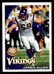 2010 Topps #404  Jared Allen  Front Thumbnail