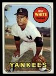 1969 Topps #25  Roy White  Front Thumbnail