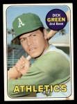 1969 Topps #515  Dick Green  Front Thumbnail