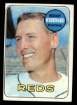 1969 Topps #142  Woody Woodward  Front Thumbnail