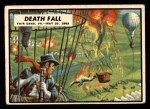 1962 Topps Civil War News #20   Death Fall Front Thumbnail