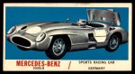 1961 Topps Sports Cars #65   Mercedes-Benz 300SLR Front Thumbnail