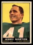 1961 Topps #120  Jerry Norton  Front Thumbnail