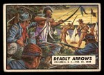 1962 Topps Civil War News #84   Deadly Arrows Front Thumbnail